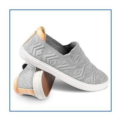 【新品】Slip On Shoes for Women - Casual Women Sneakers with Arch Support, Fashion Sneakers for Ladies, Grey, 6【並行輸入品】