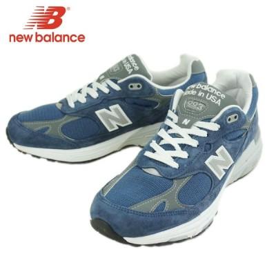 NEW BALANCE ニューバランスメンズ スニーカーMR993VIBLUENAVY(ブルーネイビー)靴 スポーツ 青 紺 白