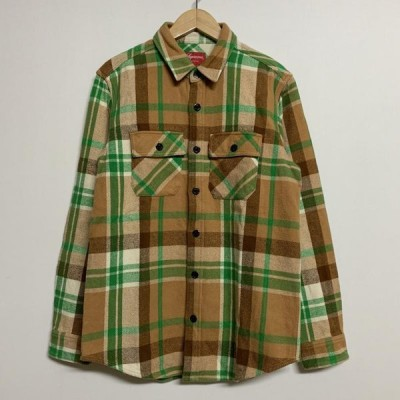 Supreme シュプリーム 長袖 シャツ、ブラウス Shirt, Blouse 長袖 ネルシャツ 10023364