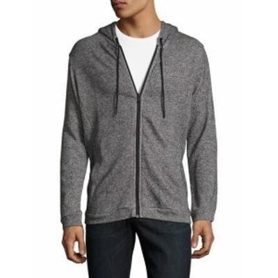 オニア Men Clothing Cotton Intarsia Hooded Jacket