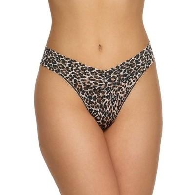 ハンキーパンキー レディース パンツ アンダーウェア Orginal Lace Leopard Thong