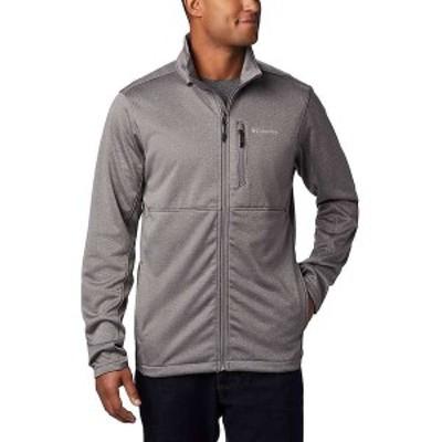 コロンビア メンズ ジャケット・ブルゾン アウター Columbia Men's Outdoor Elements Full Zip City Grey
