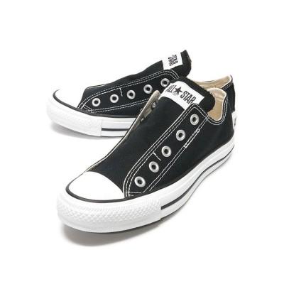 【フットプレイス】 コンバース CONVERSE オールスター スリップ3 SLIP3 スリッポン CO-AS-SLIP3OX ユニセックス ブラック 27.0cm FOOT PLACE