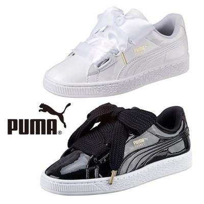 【取寄品】★PUMA★ 2種類のリボンが可愛いスニーカー