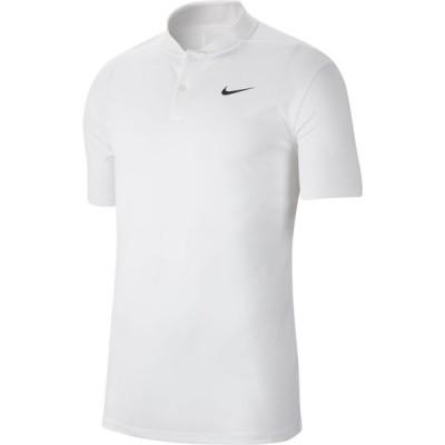 ナイキ メンズ ポロシャツ Nike Dry Victory Blade Golf Polo - White/Black