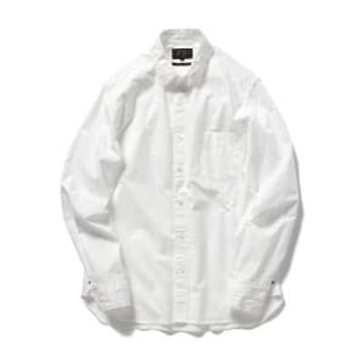 BEAMS PLUS / ペルーピマ ラウンドカラーシャツ