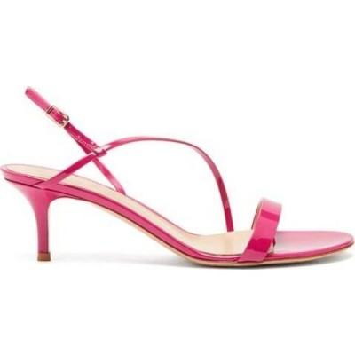 ジャンヴィト ロッシ Gianvito Rossi レディース サンダル・ミュール シューズ・靴 Manhattan 55 leather sandals Fuchsia pink