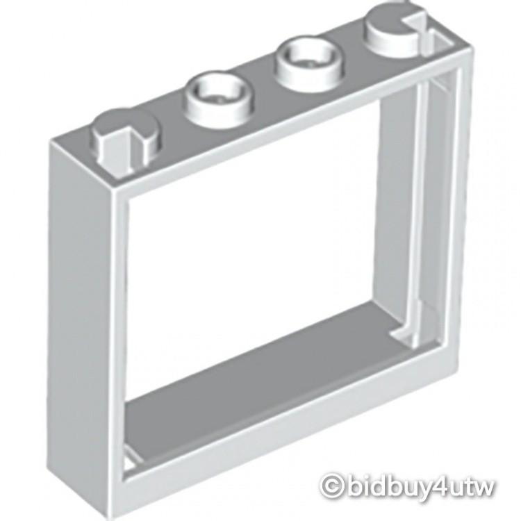 LEGO零件 窗戶 1x4x3 60594 白色 4530590【必買站】樂高零件