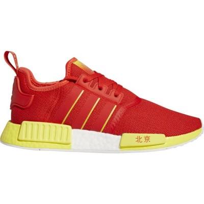 アディダス メンズ スニーカー adidas Originals NMD R1 ランニングシューズ Active Red/Bright Yellow/White