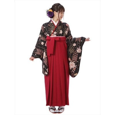 レンタル 袴 セット(AG90)大人 女 レディース 袴セット 卒業式 着物レンタル ハカマ はかま rental