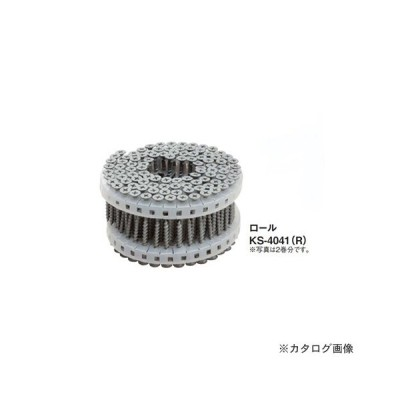 (運賃見積り)(直送品)カネシン 耐力壁ビス KS4041(ロール) (100本×20巻入) KS-4041(R)