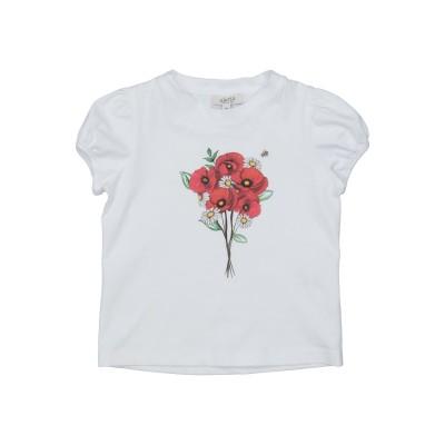 ALETTA T シャツ ホワイト 3 コットン 94% / ポリウレタン 6% T シャツ
