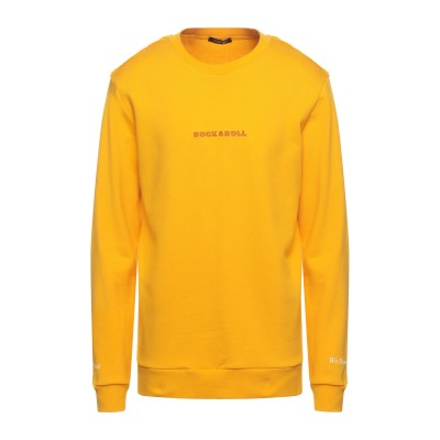 HAPPINESS スウェットシャツ イエロー L コットン 100% スウェットシャツ