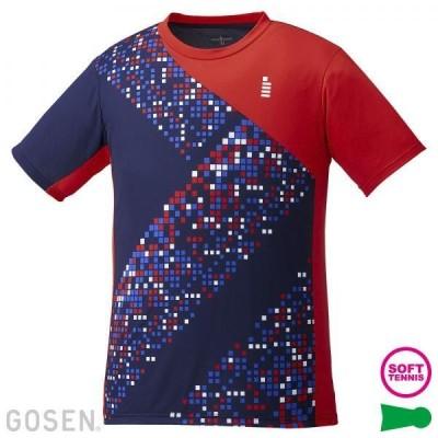 ゴーセン 男女兼用 ゲームシャツ ネイビー T1942-17 <2020>