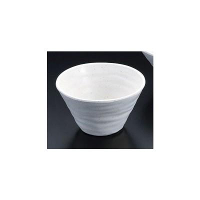 メラミン樹脂 深鉢(小)白 [D12 x 7.7cm] 料亭 旅館 和食器 飲食店 業務用