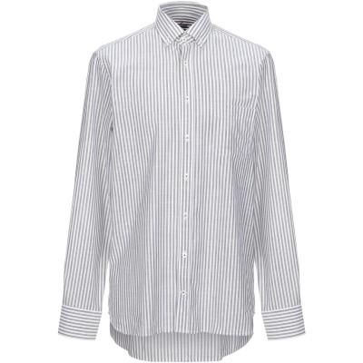 VAN LAACK シャツ グレー 40 コットン 100% シャツ
