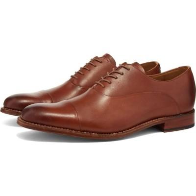 グレンソン Grenson メンズ シューズ・靴 bert shoe Tan Handpainted