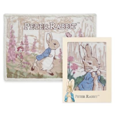 奇哥 比得兔英倫小羊羔絨毯/蓋毯禮盒 70x100cm (2款選擇)