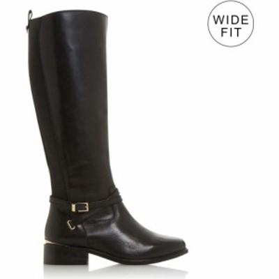 デューン Dune London レディース ブーツ ロングブーツ シューズ・靴 WF True Buckle Knee High Boots Black