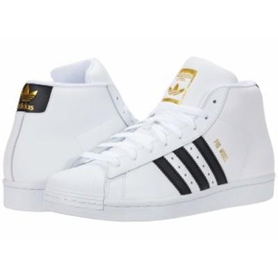 アディダスオリジナルス メンズ スニーカー シューズ Pro Model Footwear White/Core Black/Gold Foil