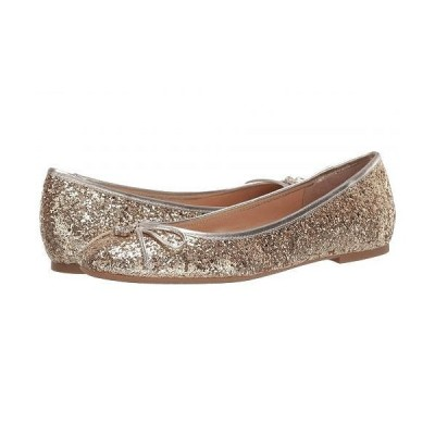 Jewel Badgley Mischka レディース 女性用 シューズ 靴 フラット Bryanna - Light Gold