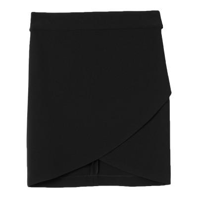 MARCIANO ミディスカート ブラック 42 ポリエステル 94% / ポリウレタン 6% ミディスカート