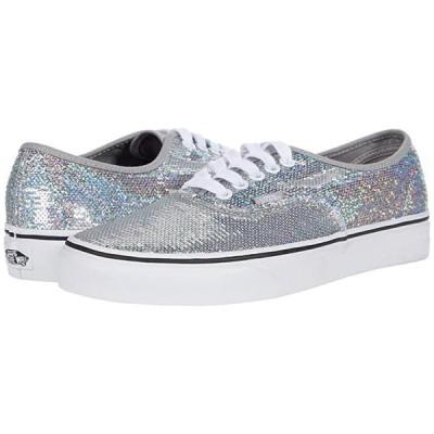 バンズ Authentic メンズ スニーカー 靴 シューズ (Micro Sequins) Silver/True White