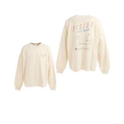 ヴィジョン(VISION)ロードイラストロングTシャツ 705032-06 OFF