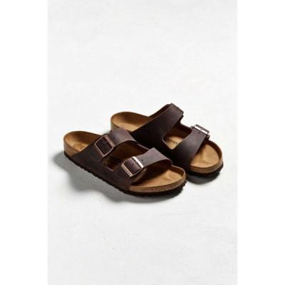ビルケンシュトック Birkenstock メンズ サンダル シューズ・靴 arizona leather sandal Brown
