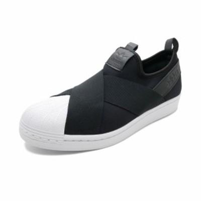スニーカー アディダス adidas スーパースタースリッポン コアブラック/コアブラック/コアブラック FW7051 メンズ レディース シューズ