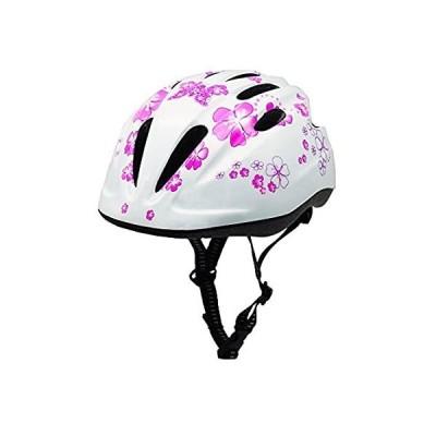 特別価格Girl Helmet for Bike,Kids Bike Pink Helmet for Girls Easily Adjuastable and好評販売中