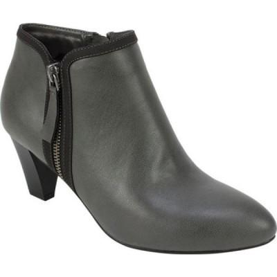 リアルト Rialto レディース ブーツ ショートブーツ シューズ・靴 Starlight Ankle Bootie Grey Smooth