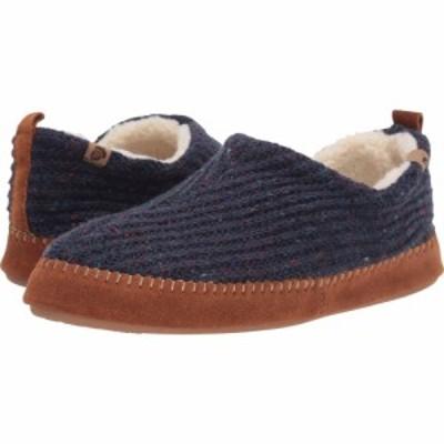 エーコーン Acorn メンズ スリッパ シューズ・靴 Camden Recycled Slipper Navy Blue