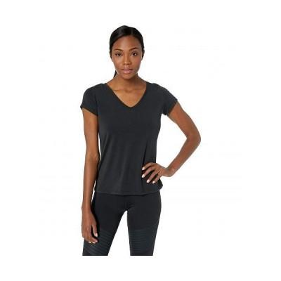 FIG Clothing フィグ レディース 女性用 ファッション Tシャツ Gax Top - Black