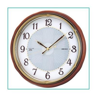 Seiko Clock Clock Wall Clock Solar Radio Clock Twin -Pas SF221B並行輸入品