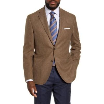 デイビッドドナヒュー メンズ ジャケット&ブルゾン アウター Aiden Classic Fit Sports Coat GRAY