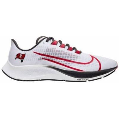 ナイキ レディース スニーカー シューズ Nike Tampa Bay Buccaneers Air Zoom Pegasus 37 Running Shoes White/University Red