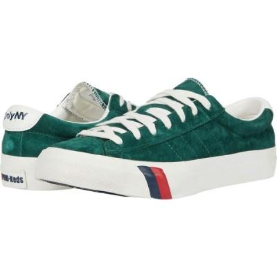 プロケッズ Pro-Keds メンズ スニーカー シューズ・靴 Royal Plus Only NY Suede Hunter Green