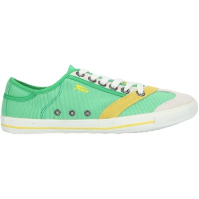 TEPA SPORT スニーカー&テニスシューズ(ローカット) ライトグリーン 40 紡績繊維 / 革 スニーカー&テニスシューズ(ローカット)