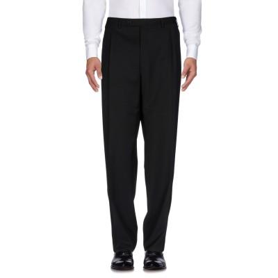 カナーリ CANALI パンツ ブラック 50 毛(ピュアバージンウール / ウールマーク付き) 100% パンツ