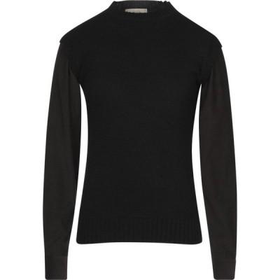 メゾンフラネウール MAISON FLANEUR メンズ ニット・セーター トップス sweater Black