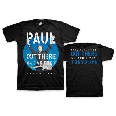Tシャツ ポール・マッカートニー アウトゼア(東京ドーム2015.4.23)