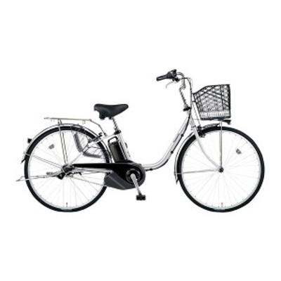 PANASONIC BE-ELSX432-S2 シャイニーシルバー ビビ・SX [電動アシスト自転車(24インチ・内装3段)]