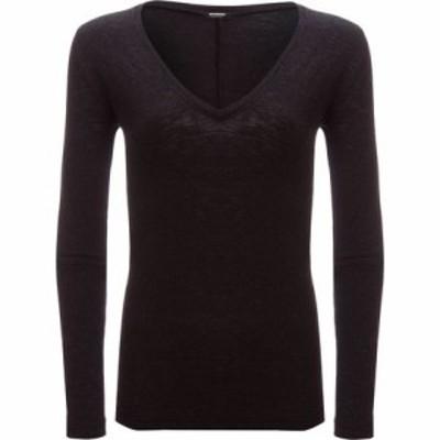 モンロウ トップス Granite Long-Sleeve V-Neck Shirt - Womens