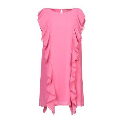 リュー ジョー LIU •JO ミニワンピース&ドレス ピンク 40 ポリエステル 100% ミニワンピース&ドレス