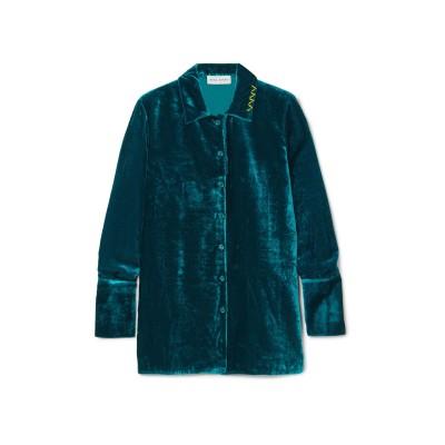 ミラ・ミカティ MIRA MIKATI シャツ ディープジェード 40 レーヨン 75% / ナイロン 25% シャツ