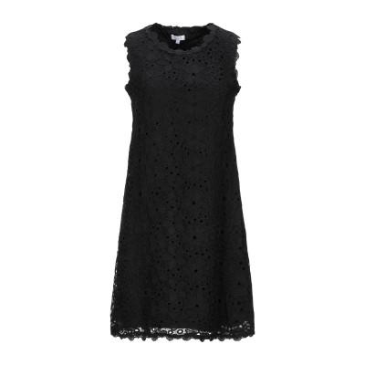 BRIGITTE BARDOT ミニワンピース&ドレス ブラック 0 コットン 100% ミニワンピース&ドレス
