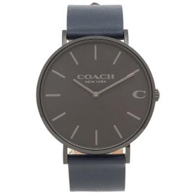 コーチ メンズ 時計 腕時計 CHARLES 41MM COACH 14602472 ネイビー【返品OK】