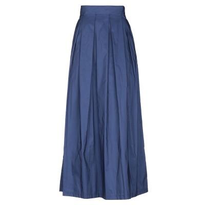 テッサ .TESSA ロングスカート ブルー 42 ポリエステル 100% ロングスカート