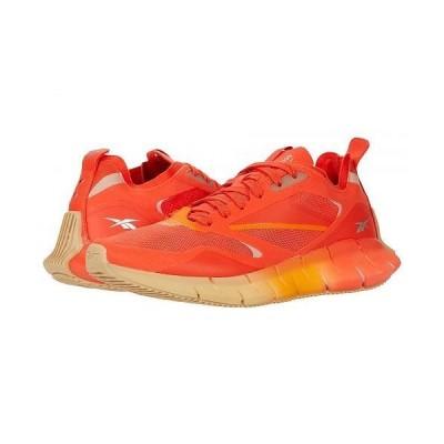 Reebok リーボック レディース 女性用 シューズ 靴 スニーカー 運動靴 Zig Kinetica Horizon - Carotene/High Vis Orange/Utility Beige